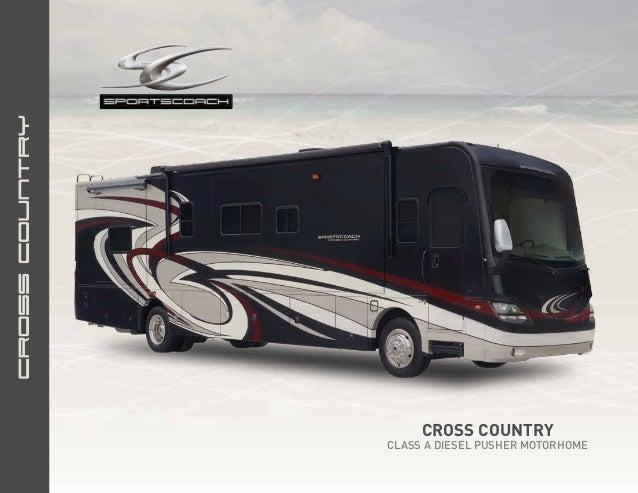2013 Coachmen Sportscoach Cross Country Class A Motorhome
