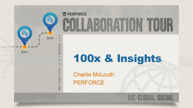 100x & Insights Charlie McLouth PERFORCE