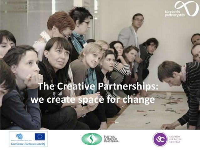 Creative Partnerships Lithuania 2013 year