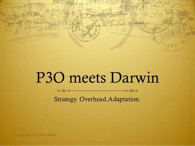 2013.02 P3O meets Darwin