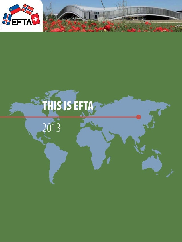 53th Annual Report of The European Free Trade Association 2013
