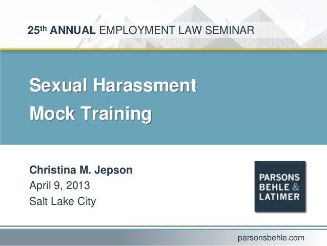 Sexual_Harassment_Mock_Training