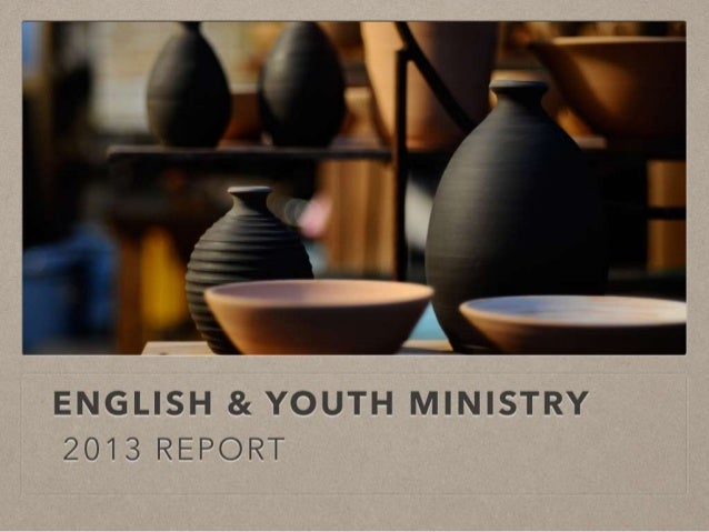 2013 Canaan English Ministry report
