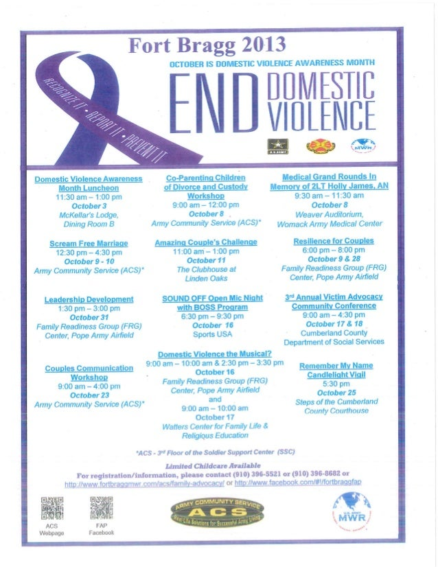 2013 End Domestic Violence