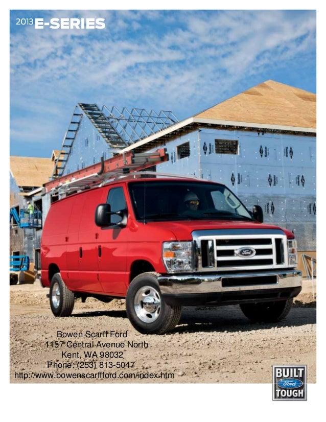 2013 Ford E-Series Brochure WA   Kent Ford Dealer