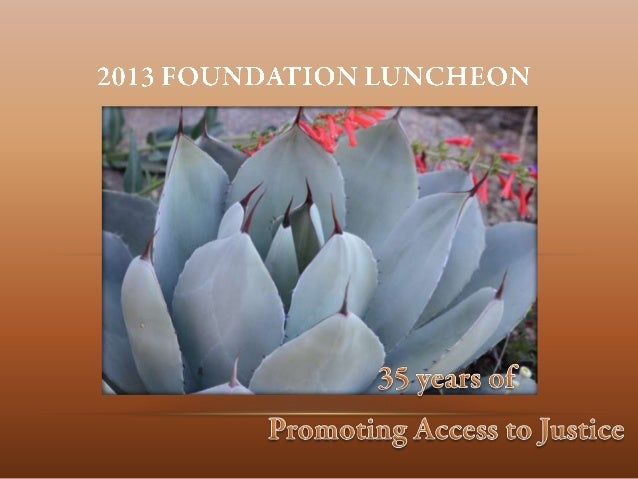 2013 foundation luncheon other awardees