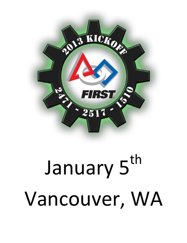 Hosted by Teams 2471 * 2517 * 1510                           th  January 5Vancouver, WA