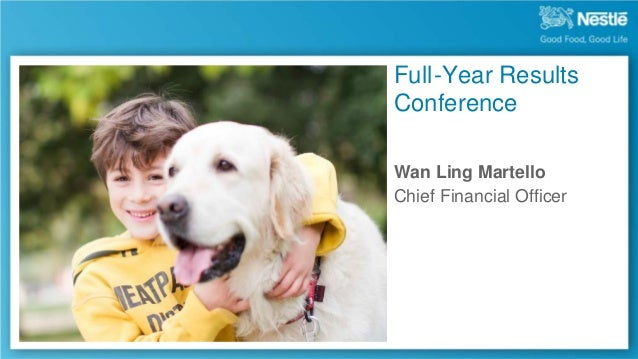 Full -Year Results Conference Wan Ling Martello Chief Financial Officer