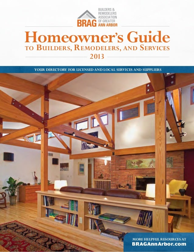 Homeowner's Guide to Builders, Remodelers and Services - 2013