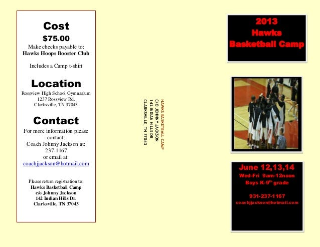 2013 hawks camp flyer