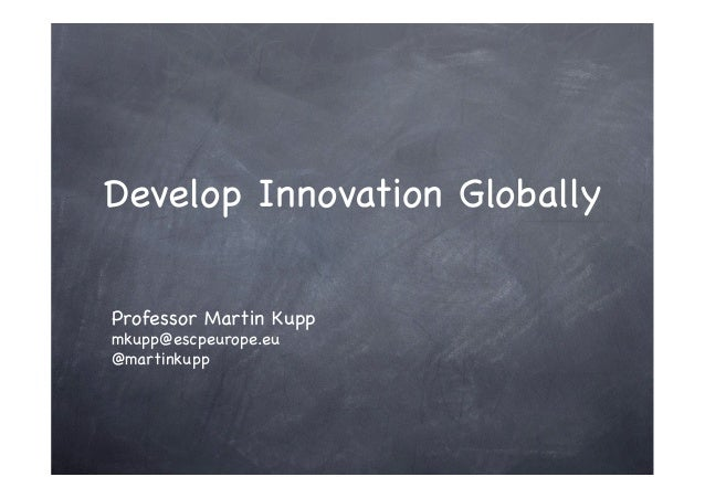 Develop Innovation Globally