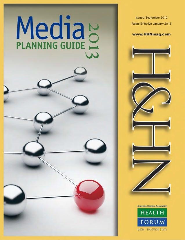 2013  H&HN -American Hospital Association Media Guide