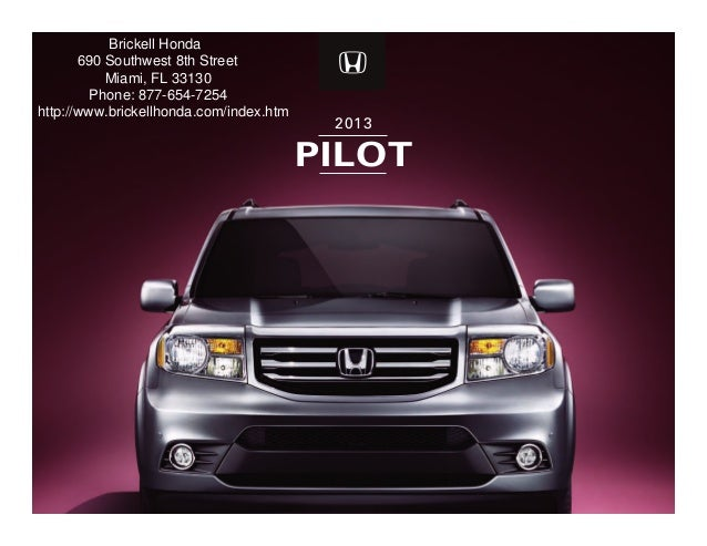 Miami Honda Dealer Brickell Honda Autos Post