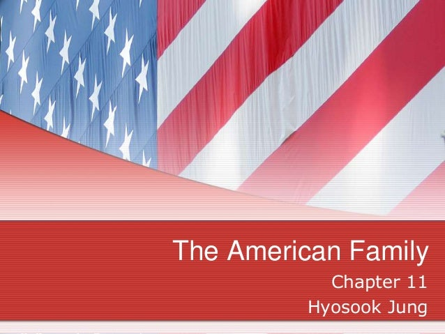 The American Family Chapter 11 Hyosook Jung