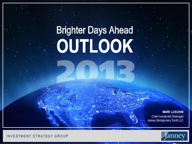 2013 investment outlook