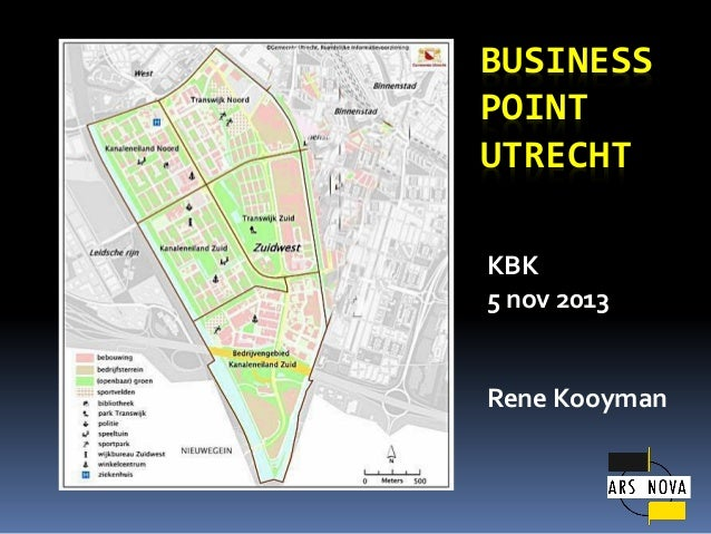 KBK Business Point Utrecht 2014: Urban Identity en Communicatie Plan