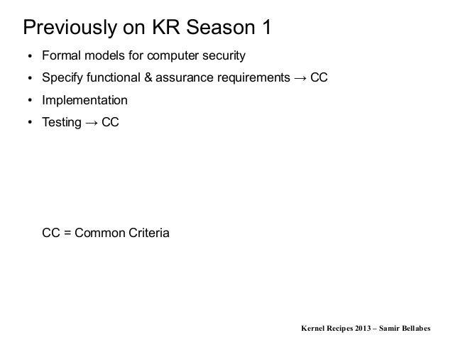 Kernel Recipes 2013 - Linux Se...