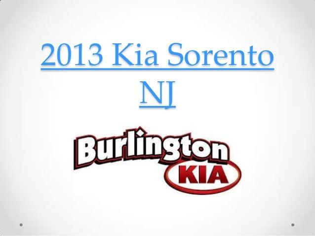 2013 Kia Sorento       NJ