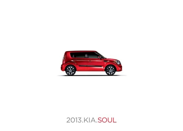 2013 kia soul brochure fl