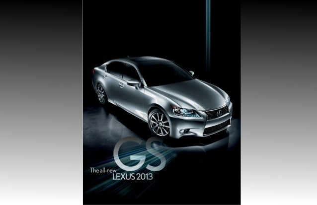 2013 Lexus GS Brochure KY | Louisville Lexus Dealer