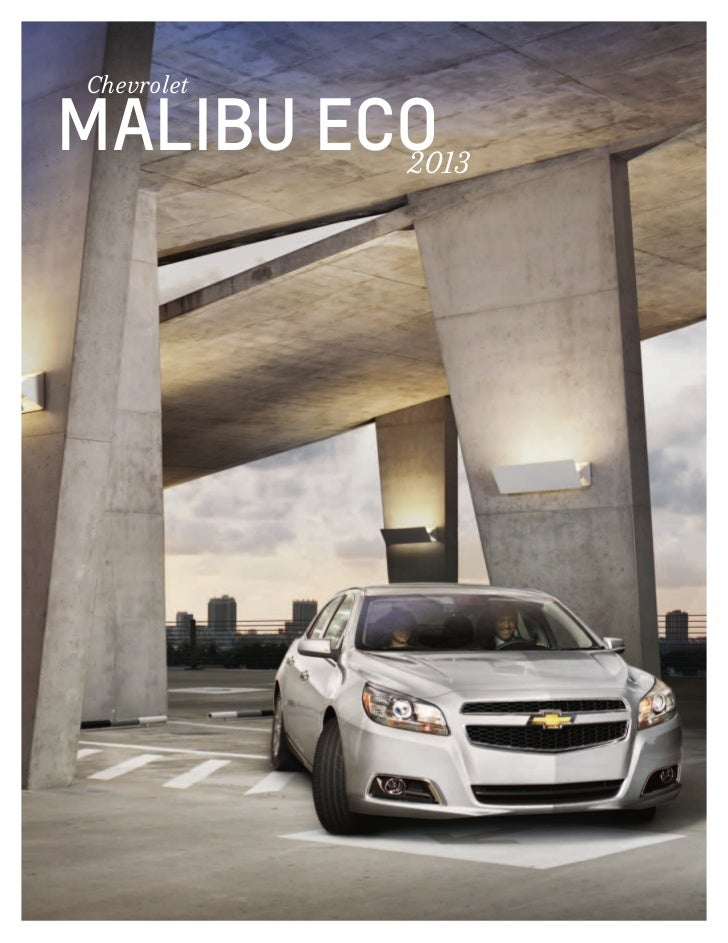 2013 Chevrolet Malibu e-Brochure