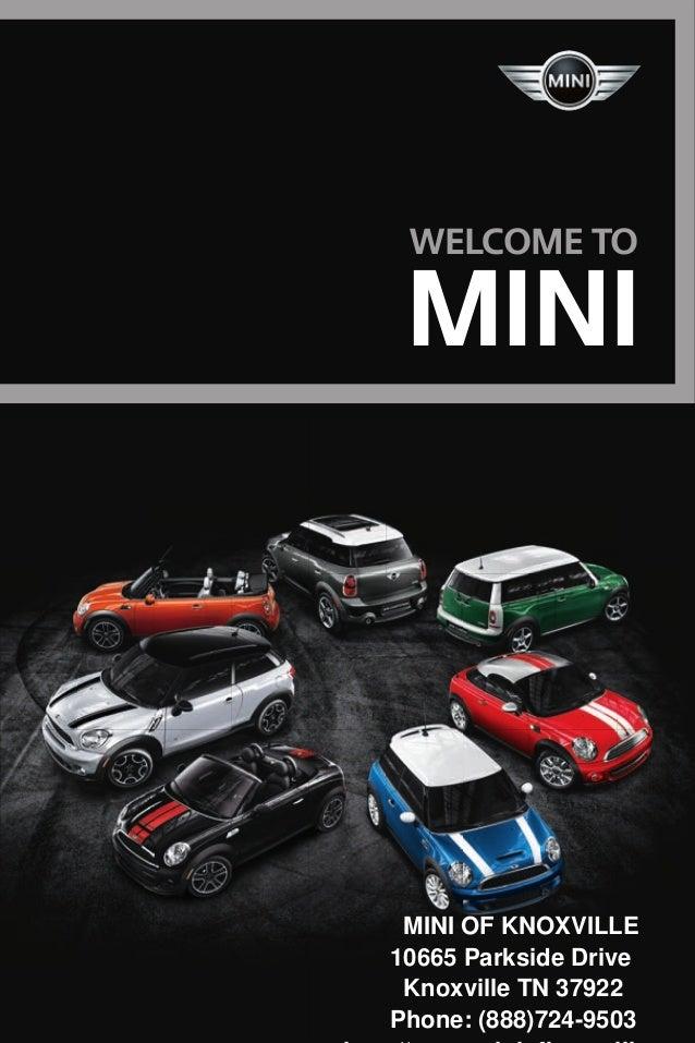 2013 MINI Brochure TN   Tennessee MINI Dealer