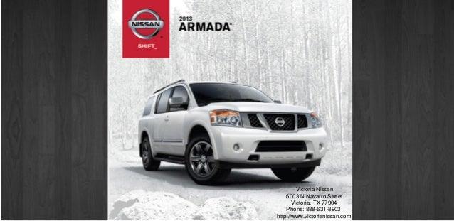 2013 Nissan Armada Brochure TX | Victoria TX Nissan Dealer