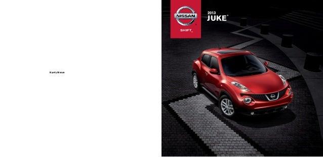 2013 Nissan Juke Brochure at Byerly Nissan. Contact Patrick Williams at 502-424-6425.