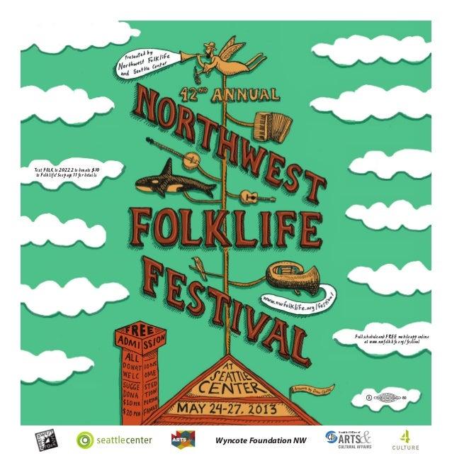 2013 Northwest Folklife Souvenir Festival Guide