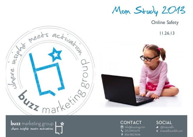 Mom Study 2013 Online Safety  11.26.13