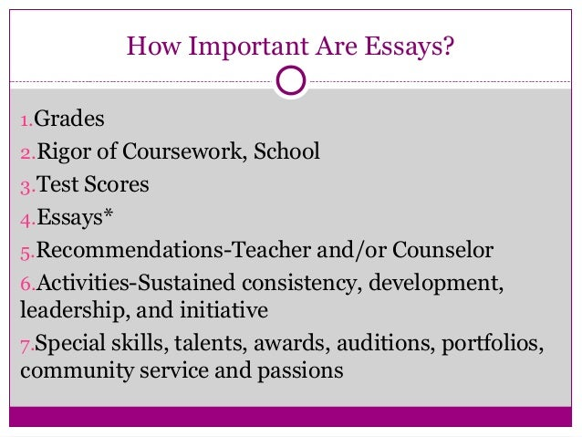 College application essay service leadership