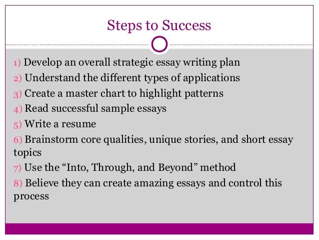 Student Success essays