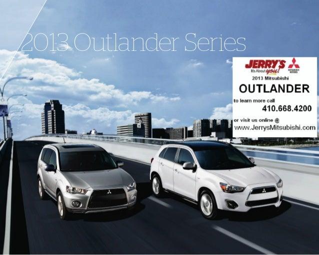 2013 Outlander Series
