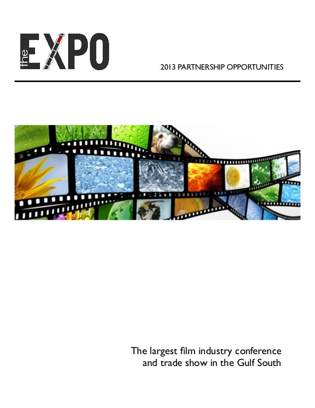 2013 Film Industry Expo partnership package