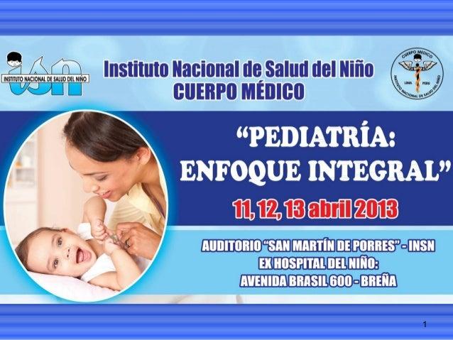 2013 pediatriavisionintegral presentacioncd