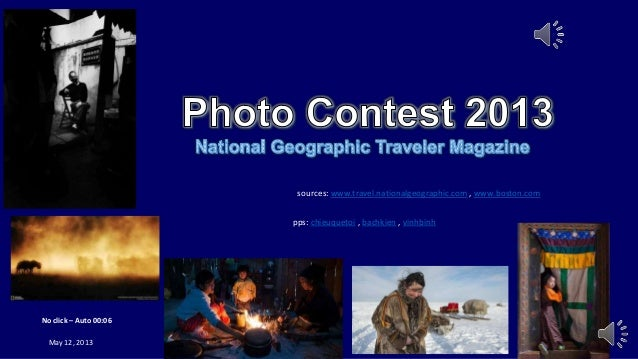 2013 Photo Contest- National Geographic Traveler Magazine