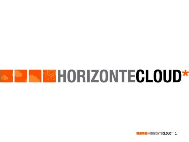 2013 presentacion servicios Horizonte Cloud