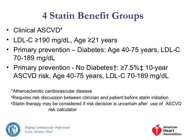 Primary Prevention Of Cardiovascular Disease With A ...