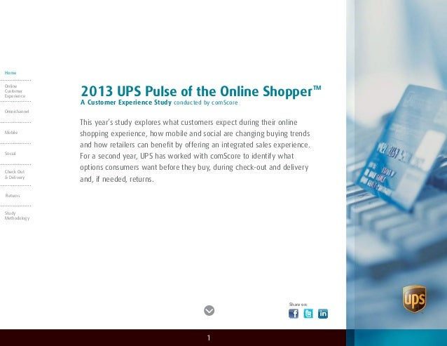 This year's study explores what customers expect during their online shopping experience, how mobile and social are changi...