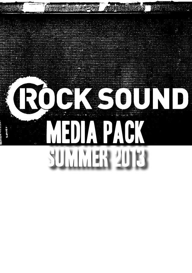 Rock Sound Media Pack