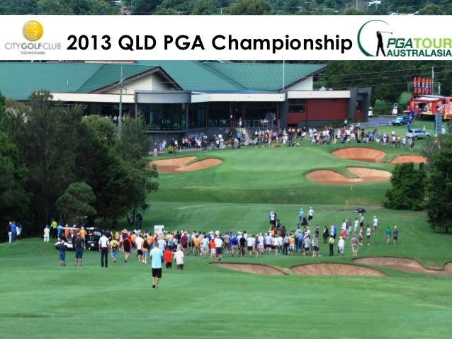 2013 QLD PGA Championship