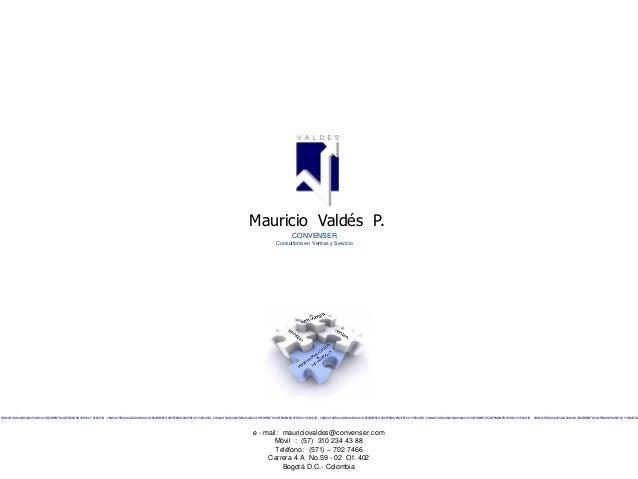Mauricio Valdés P.                                                                                                        ...