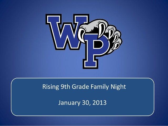 2013 rising 9th night ppt