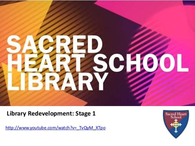Library Redevelopment: Stage 1 http://www.youtube.com/watch?v=_TvQyM_XTpo