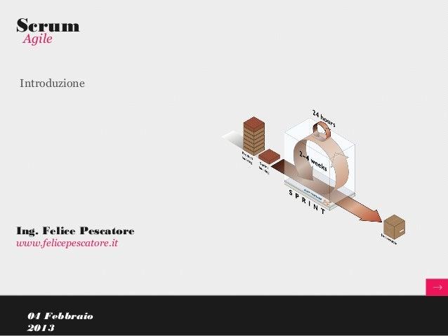 Introduzione a Scrum