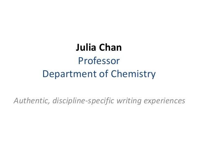 Speaking  - Lightning Round - Julia Chan