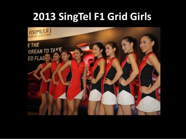 2013 SingTel F1 Grid Girls
