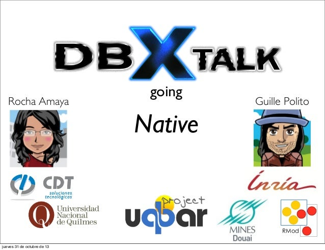 2013 smalltalks dbxtalk