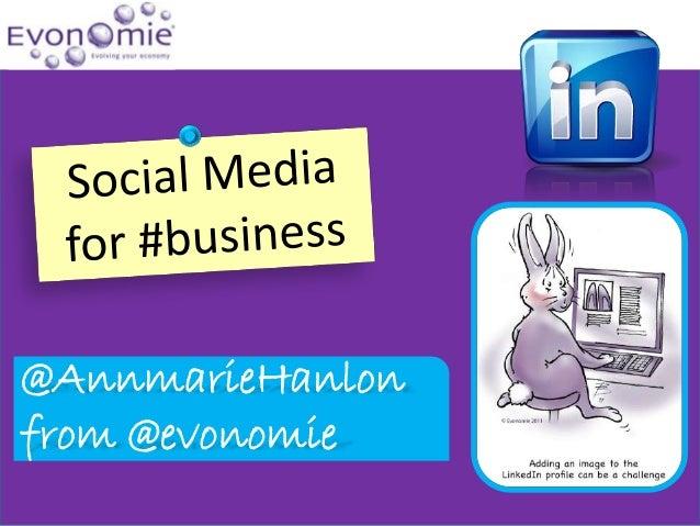 @AnnmarieHanlonfrom @evonomie