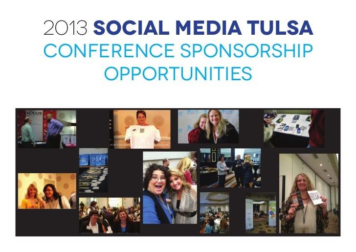2013 Social Media TulsaConference Sponsorship    Opportunities